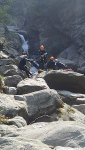 canyoning val d'aoste