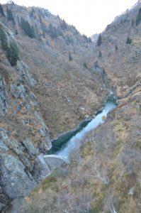 Canyoning, Diosaz