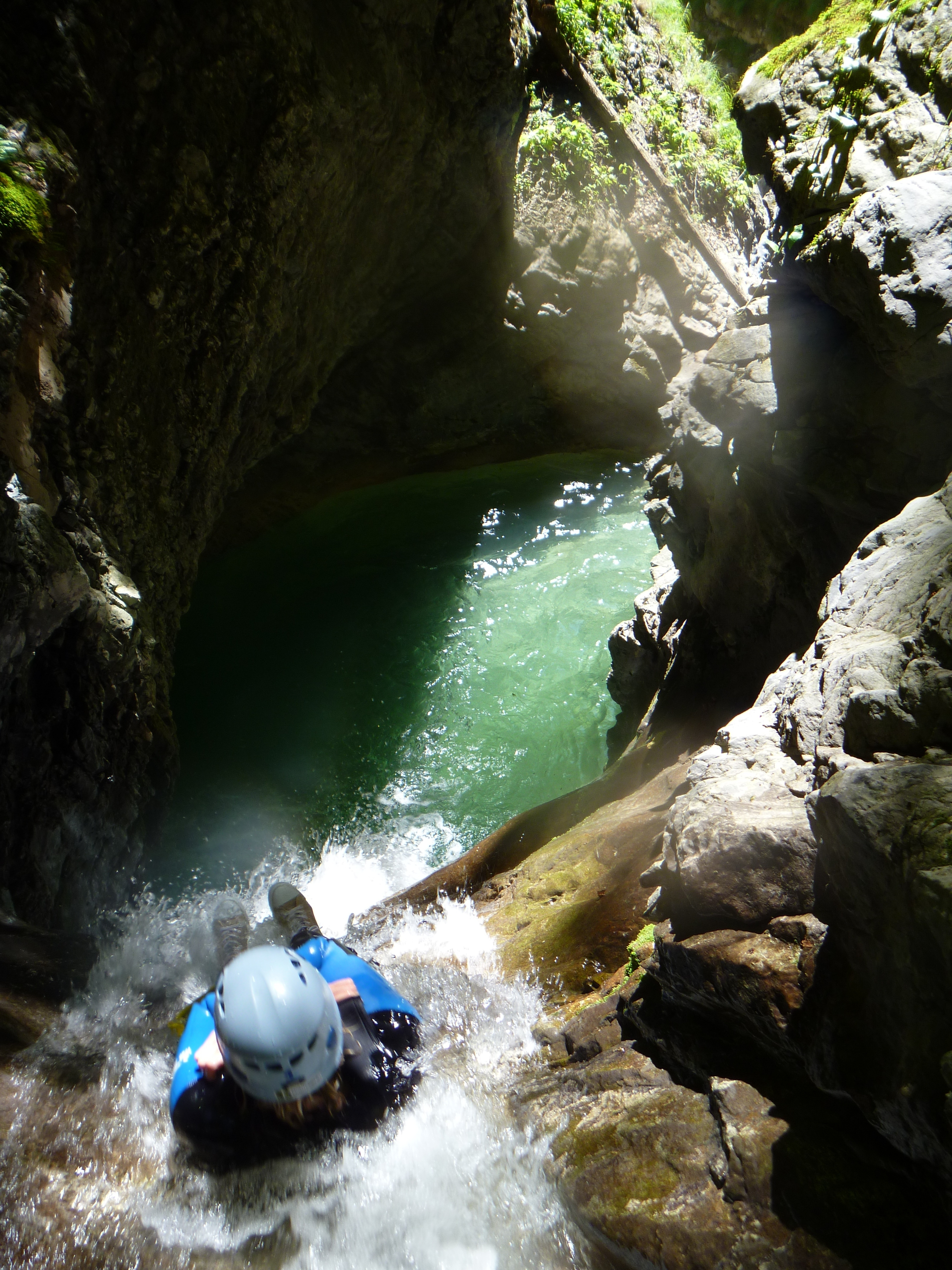 Canyoning à Montmin : nouvelle organisation