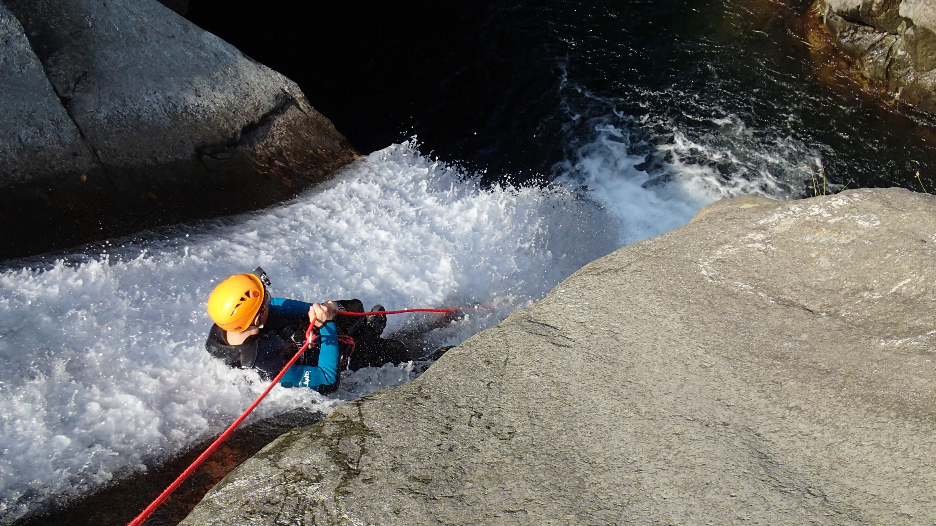 canyoning italie