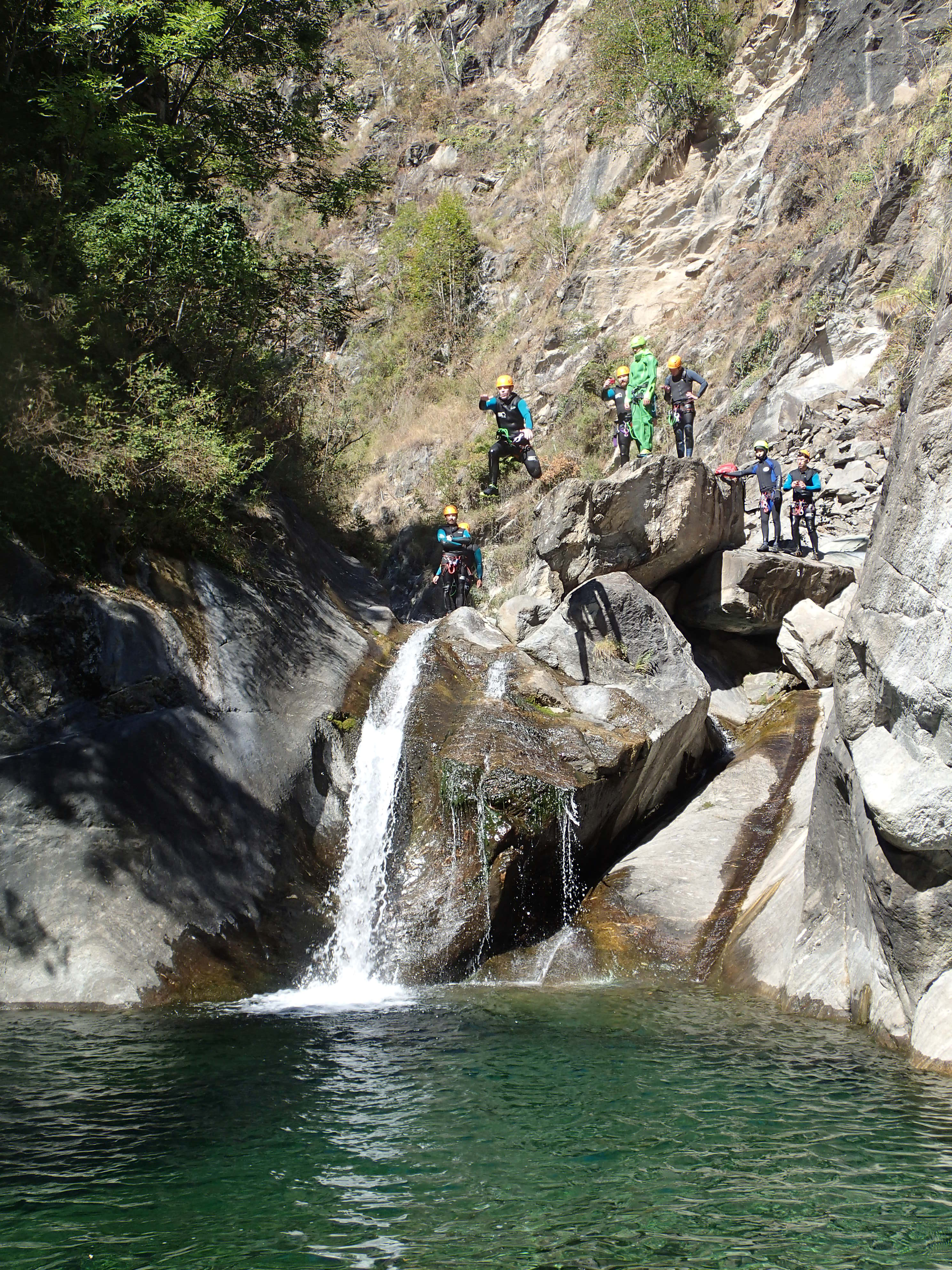 canyoning aoste