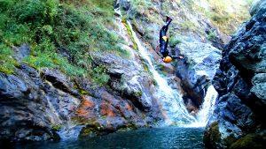 Canyoning dans le val d'Aoste : la bella vita