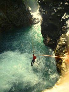 Les dessous du canyoning