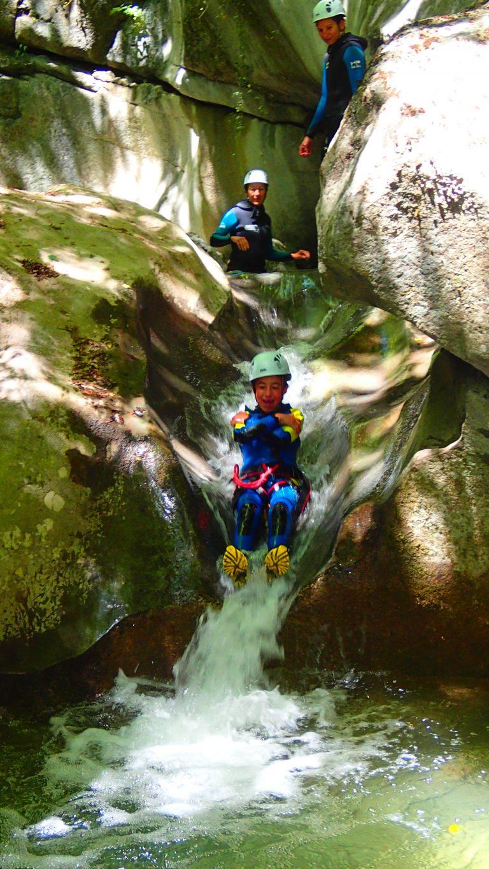 canyoning à Balme