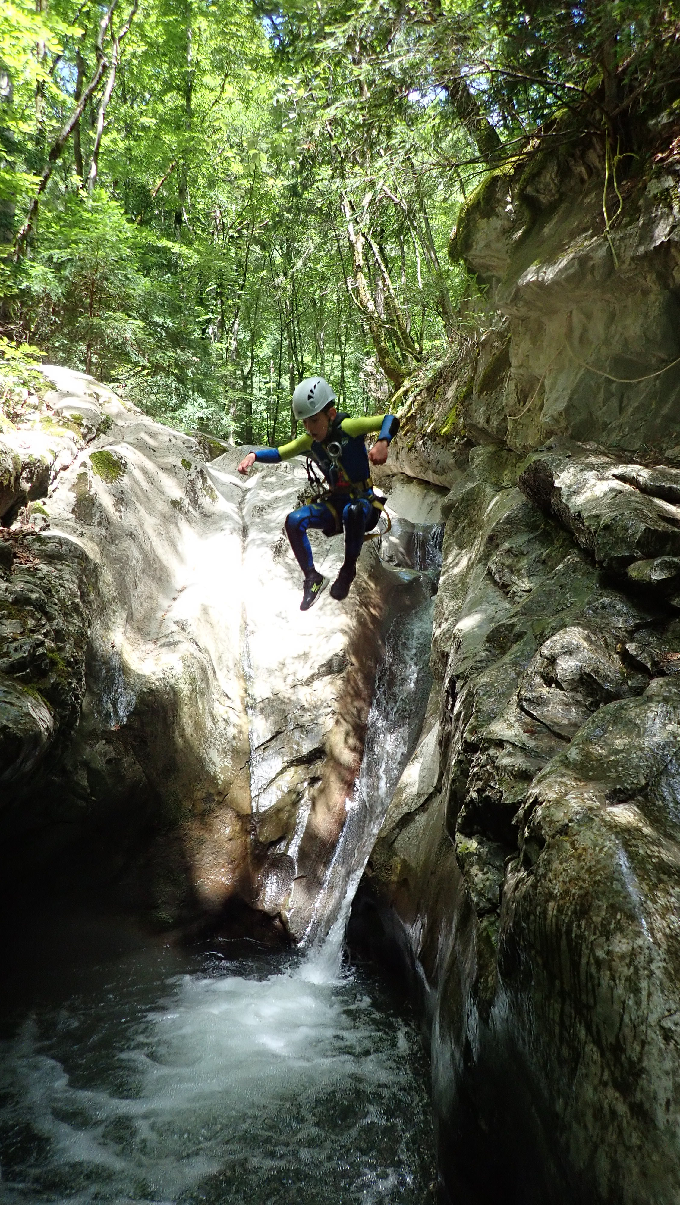 canyoning, Balme, toboggans, Les Carroz, Samoens