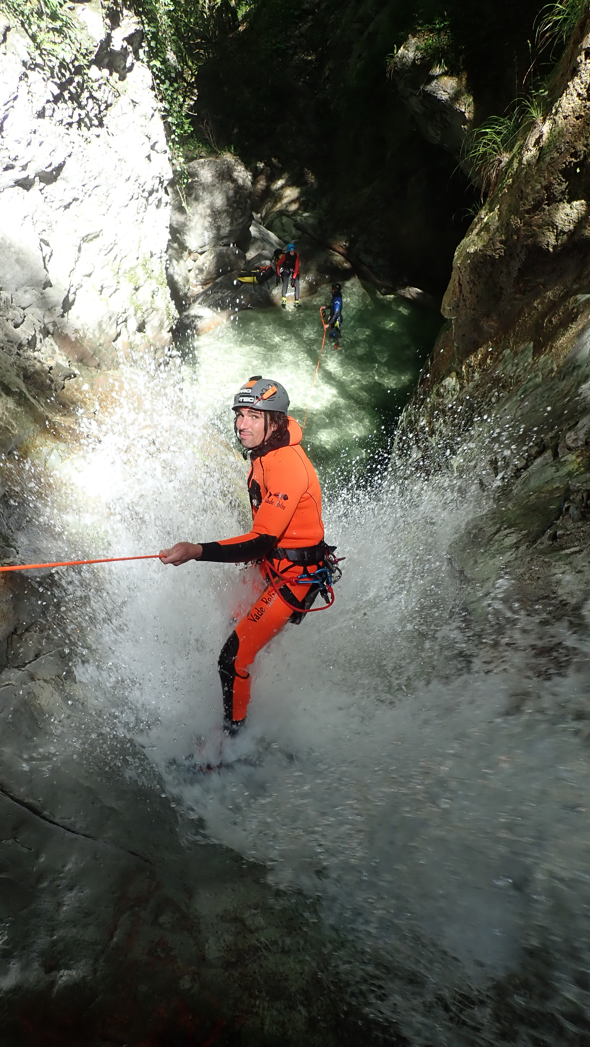 canyoning formation