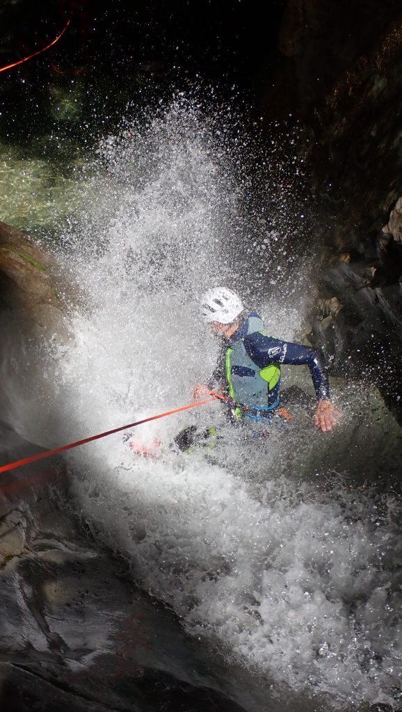 canyoning, formation